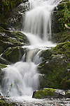 Murphy Gulch Falls during spring time in the Sierra Nevada foothills of central California.