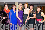 Staff from Barraduff N.S Helen O'Mahony, Lisa Cronin, Claire O'Halloran, Fiona Williams, Eileen O'Mahony and Noreen O'Sullivan at the 'Sport Stars on Catwalk for School Fashion' fundraising event in Darby O'Gills in Killarney last Saturday night with all funds raised going to Barraduff National School.