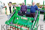 Stephen Gamble, John Moriarty ad Pat Clifford Killorglin at the Hoare Machinery open day on Saturday in Killorglin