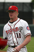 August 31, 2003:  Nick Jones of the Lansing Lugnuts during a game at Cooley Stadium in Lansing, Michigan.  Photo by:  Mike Janes/Four Seam Images
