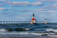 64795-02711 St. Joseph North Pier Lighthouses St. Joseph, MI