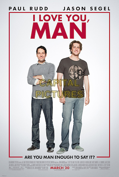 KEY POSTER ART.in I Love You, Man .*Filmstill - Editorial Use Only*.CAP/FB.Supplied by Capital Pictures.