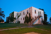 Abandoned Concho Indian Boarding School in Concho, OK