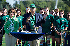 Sept. 28, 2013; Stinson Rugby Dedication. Photo by Barbara Johnston/University of Notre Dame