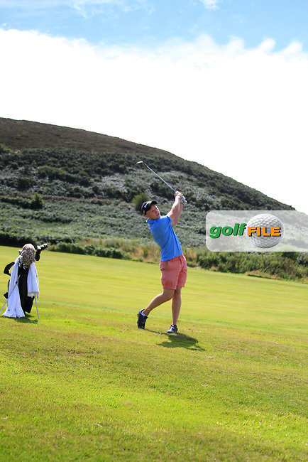 John McCarthy (UCD) during the AIG Barton Shield Leinster finals, Howth Golf Club, Howth, Dublin.  29/07/2016.<br /> Picture: Golffile | Fran Caffrey<br /> <br /> <br /> All photo usage must carry mandatory copyright credit (&copy; Golffile | Fran Caffrey)