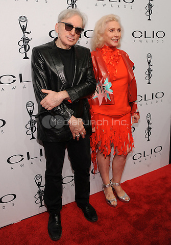 New York, NY- October 1:Chris Stein and  Debbie Harry from Blondie attend the 2014 CLIO Awards on October 1, 2014 at Cipriani Wall Street in New York City.  Credit: John Palmer/MediaPunch