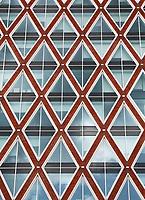 Nederland Gouda 2017. De gevel van het Huis van de Stad . Het nieuwe Stadhuis.  Foto Berlinda van Dam / Hollandse Hoogte