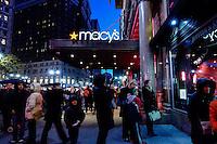 People visit Mancy's Herald Square store during Black friday promotions in New York.  10.28.2014. Eduardo Munoz Alvarez/VIEWpress