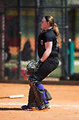 Nazareth College Golden Flyers Jessica Mount (12) during a game against the Edgewood Eagles on March 12, 2017 at North Collier Park in Fort Myers, Florida.  (Mike Janes/Four Seam Images)