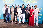 "Salva Reina, Jordi Sanchez, Silvia Alonso, Rossy de Palma, Eduardo Casanova, director of the film Alvaro Diaz Lorenzo, David Guapo, Megan Montaner and Bore Buika attends to premiere of ""Senor, dame paciencia"" at Fortuny Palace in Madrid, June 15, 2017. Spain.<br /> (ALTERPHOTOS/BorjaB.Hojas)"