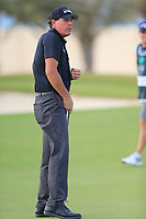 Phil Mickelson (USA) on the 17th green during the 1st round of  the Saudi International powered by Softbank Investment Advisers, Royal Greens G&CC, King Abdullah Economic City,  Saudi Arabia. 30/01/2020<br /> Picture: Golffile | Fran Caffrey<br /> <br /> <br /> All photo usage must carry mandatory copyright credit (© Golffile | Fran Caffrey)