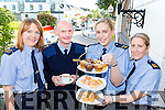 Garda Stephanie Hegarty, Sargent Dermot O'connell, Gillian MacEoin and Deirdre Quinn ampling the treats on offer at the Killarney Garda coffee morning in the Plaza Hotel on Tuesday