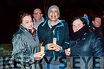 Pictured at a candlelight vigil to mark World Suicide Day at Pearse Park, Tralee on Sunday night last, were l-r: Maire Walsh, Nigel O'Sullivan and Sheila Daly.