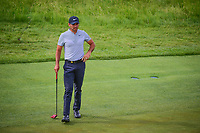Jason Day (AUS) waits to putt on 12 during Friday's round 2 of the 117th U.S. Open, at Erin Hills, Erin, Wisconsin. 6/16/2017.<br /> Picture: Golffile | Ken Murray<br /> <br /> <br /> All photo usage must carry mandatory copyright credit (&copy; Golffile | Ken Murray)
