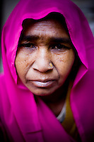 50 year old Bijrania is a member of the 10,000 strong 'Gulabi Gang' (Pink Gang). In the badlands of Bundelkhand, one of the poorest parts of one of India's most populous states, a gang of female vigilantes have sprung up to fight the oppression of a caste-ridden, feudalistic and male dominated society. In a land where dowry demands and domestic and sexual violence are common, the 'Gulabi Gang', so called for their uniform of shocking pink saris, are picking up their lathis to fight against corruption and violence against women.
