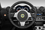 Steering wheel view of a 2009 Lotus Elise SC 2 Door Convertible