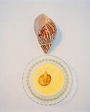 AUSTRIA, Weiden Am See, corn soup served at the Zur Blauen Gans Restaurant in Seepark, Burgenland