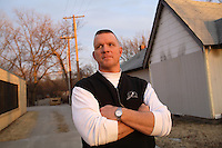 """Steve Whitaker, Pastor of the homeless mission, """"John 3:16"""" in Tulsa, Oklahoma. His mission is the largest homeless charity in the city."""