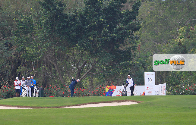 Paul Peterson (USA) on the 10th tee during Round 2 of the UBS Hong Kong Open, at Hong Kong golf club, Fanling, Hong Kong. 24/11/2017<br /> Picture: Golffile | Thos Caffrey<br /> <br /> <br /> All photo usage must carry mandatory copyright credit     (&copy; Golffile | Thos Caffrey)
