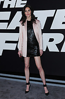 www.acepixs.com<br /> April 8, 2017  New York City<br /> <br /> Hillary Rhoda attending 'The Fate Of The Furious' New York premiere at Radio City Music Hall on April 8, 2017 in New York City.<br /> <br /> Credit: Kristin Callahan/ACE Pictures<br /> <br /> <br /> Tel: 646 769 0430<br /> Email: info@acepixs.com