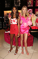 7 February 2019 - Los Angeles, California - Jasmine Tookes And Romee Strijd. Victoria's Secret Angels Jasmine Tookes And Romee Strijd Celebrate Valentines Day held at Victoria's Secret Beverly Center. Photo Credit: Faye Sadou/AdMedia