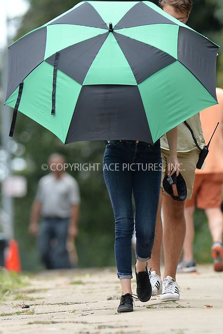 WWW.ACEPIXS.COM<br /> September 9, 2015 New York City<br /> <br /> Kristen Stewart  was seen on the film set of the Woody Allen Summer Project on September 9, 2015 in New York City.<br /> <br /> Credit: Kristin Callahan/AcePictures<br /> <br /> <br /> Tel: (646) 769 0430<br /> e-mail: info@acepixs.com<br /> web: http://www.acepixs.com