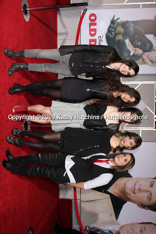 KSM singing group.arriving at the Old Dogs World Premiere.El Capitan Theater.Los Angeles,  CA.November 9, 2009.©2009 Kathy Hutchins / Hutchins Photo.