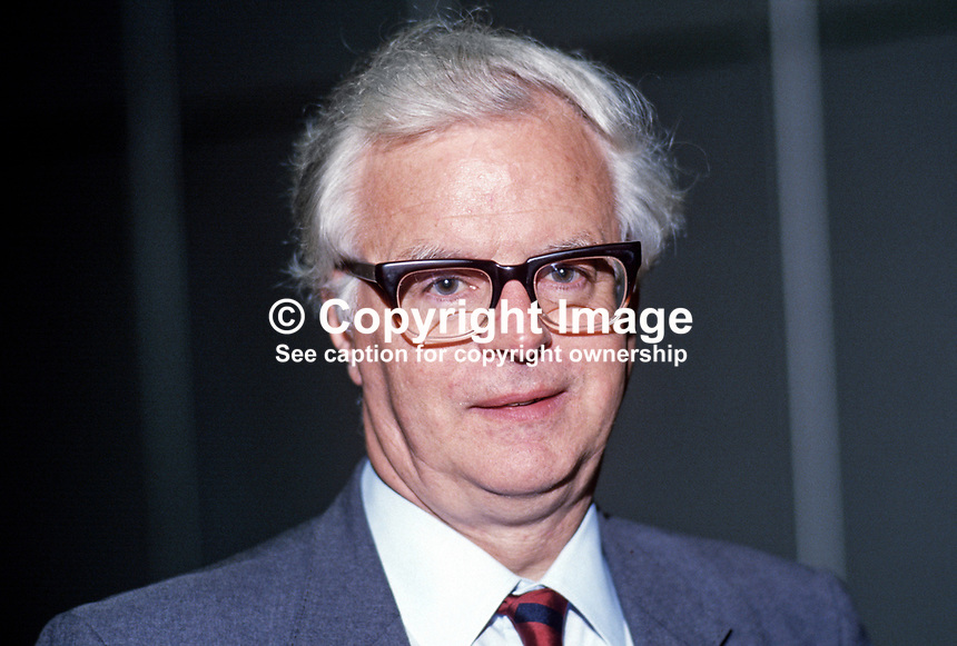 Bruce Millan, MP, Labour Party, UK, 19870924BM.<br />