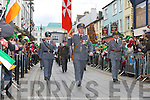 The Odrer of Malta marching at the Killarney St Patricks Day parade on Sunday ..