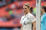 WASHINGTON, DC - MARCH 07: Leonie Maier (GER). The England Women's National Team played the Germany Women's National Team as part of the SheBelieves Cup on March 7, 2017, at RFK Stadium in Washington, DC. Germany won the game 1-0.