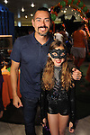 Henry Rodriguez and his daughter Bethany at the Little Galleria Halloween Spooktacular presented by MD Anderson Children's Cancer Hospital at The Galleria Sunday Oct. 30,2016.(Dave Rossman photo)