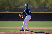 San Diego Padres relief pitcher Luis Patino (84) prepares to deliver a pitch during an Extended Spring Training game against the Colorado Rockies at Peoria Sports Complex on March 30, 2018 in Peoria, Arizona. (Zachary Lucy/Four Seam Images)
