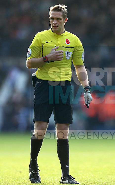 Referee Craig Pawson - Barclays Premier League - WBA vs Newcastle Utd - Hawthorns Stadium - West Bromwich - England - 9th November 2014  - Picture Simon Bellis/Sportimage