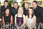 The cast of Celtic Steps who will be performing in the gleneagle over the summer months are Sharon Langston, Joanne O'Connor, Roisin Ryan, David Geaney, Sean Murphy, David Rea and Morgan Pierse. ..............