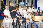 Book now for all the new styles for this years Holy Communion at Killarney Hair Studio, Anne O'Shea is styling Laura Weldon hair as well as her friends front row l-r: Rachel Boyle, Christian Casey, Cathal Brosnan, Cathal Weldon. Back row: Meagan O'Boyle, Katie O'Sullivan, Anne Lee O'Mahony, Holly Barrett