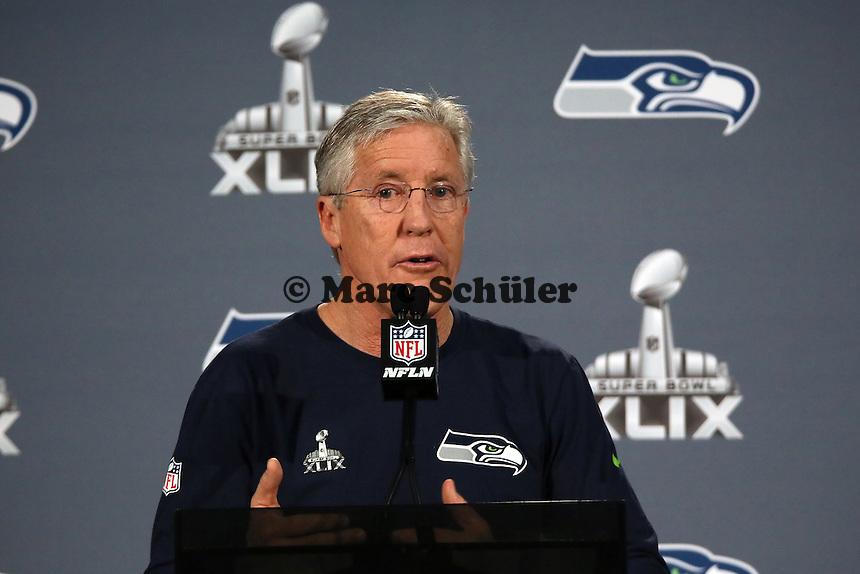 Head Coach Pete Carroll (Seahawks)- Super Bowl XLIX Seattle Seahakws Team-PK, Arizona Grand Hotel