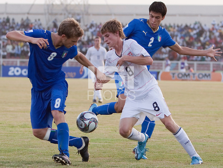 Alex Shinsky. Italy defeated the US Under-17 Men's National Team 2-1 in Kaduna, Nigera on November 4th, 2009.