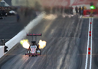 Feb 21, 2020; Chandler, Arizona, USA; NHRA top fuel driver Billy Torrence during qualifying for the Arizona Nationals at Wild Horse Pass Motorsports Park. Mandatory Credit: Mark J. Rebilas-USA TODAY Sports