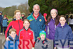 Knocknagoshel walkers at the Let's Get Kerry Walking/Operation Transformation walk in Muckross on Saturday was front row l-r: Shane Browne, Amy Browne, Jack Brosnan. Back row: Mary Browne, Noel, Miriam and Roisin Brosnan..
