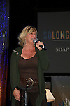 Kim Zimmer sings at Evening Session - games - singing - impressions - stories   So Long Springfield celebrating 7 wonderful decades of Guiding Light Event - come to see fans at Mohegan Sun, Uncasville, Ct on March 7, 2010. (Photo by Sue Coflin/Max Photos)