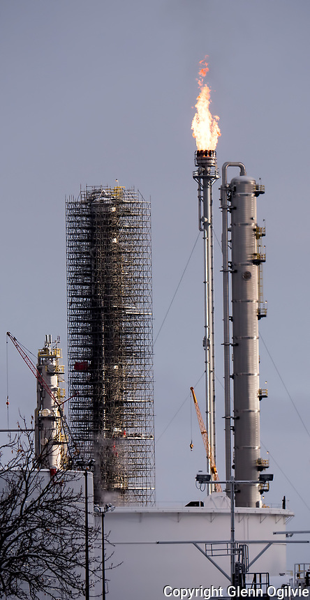 A new flare stack at Nova Corunna