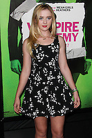 "LOS ANGELES, CA - FEBRUARY 04: Kathryn Newton at the Los Angeles Premiere Of The Weinstein Company's ""Vampire Academy"" held at Regal Cinemas L.A. Live on February 4, 2014 in Los Angeles, California. (Photo by Xavier Collin/Celebrity Monitor)"