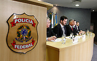 CURITIBA, PR, 04.07.2016: LAVA-JATO – Delegados da Polícia Federal e Procuradores da República responsaveis pela operação Lava Jato durante entrevista coletiva sobre a 31ª Fase da operação Lava-Jato, na manhã desta segunda-feira (04), na sede da Policia Federal, em Curitba (PR). (Foto: Paulo Lisboa/Brazil Photo Press)