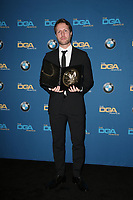 BEVERLY HILLS, CA - FEBRUARY 3: Matthew Heineman in the press room at the 70th Annual DGA Awards at The Beverly Hilton Hotel in Beverly Hills, California on February 3, 2018. <br /> CAP/MPI/FS<br /> &copy;FS/MPI/Capital Pictures