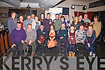 Pictured at the crowning of the Clans Champions night in Cable O'Learys Bar, Ballinskelligs on Monday were The O'Learys Portmagee - Drag Hunt, The Lynches Valentia - Tag Rugby, The Murphys Ardcost - 4 Oar, The Lyne's Valentia - Tug Of War, Adrian Brennan Portmagee - Sheaf Throwing & The Fitzgeralds Cahersiveen for the 5K Relay.
