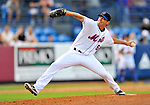 28 February 2011: New York Mets pitcher Michael O'Connor on the mound against the Washington Nationals at Digital Domain Park in Port St. Lucie, Florida. The Nationals defeated the Mets 9-3 in Grapefruit League action. Mandatory Credit: Ed Wolfstein Photo