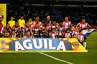 BARRANQUIILLA -COLOMBIA-01-04-2017: Atlético Junior y Cortulua en partido por la fecha 11 de la Liga Águila I 2017 jugado en el estadio Metropolitano Roberto Meléndez de la ciudad de Barranquilla. / Atletico Junior and Cortulua in match for the date 11 of the Aguila League I 2017 played at Metropolitano Roberto Melendez stadium in Barranquilla city.  Photo: VizzorImage/ Alfonso Cervantes /Cont