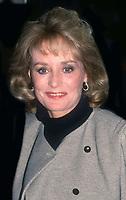 Barbara Walters 1991<br /> Photo By John Barrett/PHOTOlink