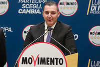 Marco Dall'Acqua<br /> <br /> Roma 29/01/2018. Presentazione dei candidati nelle liste uninominali del Movimento 5 Stelle.<br /> Rome January 29th 2018. Presentation of the candidates for Movement 5 Stars.<br /> Foto Samantha Zucchi Insidefoto