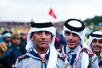 Quatar scouts is also represented at this multinational event. Photo: Audun Ingebrigtsen / Scouterna